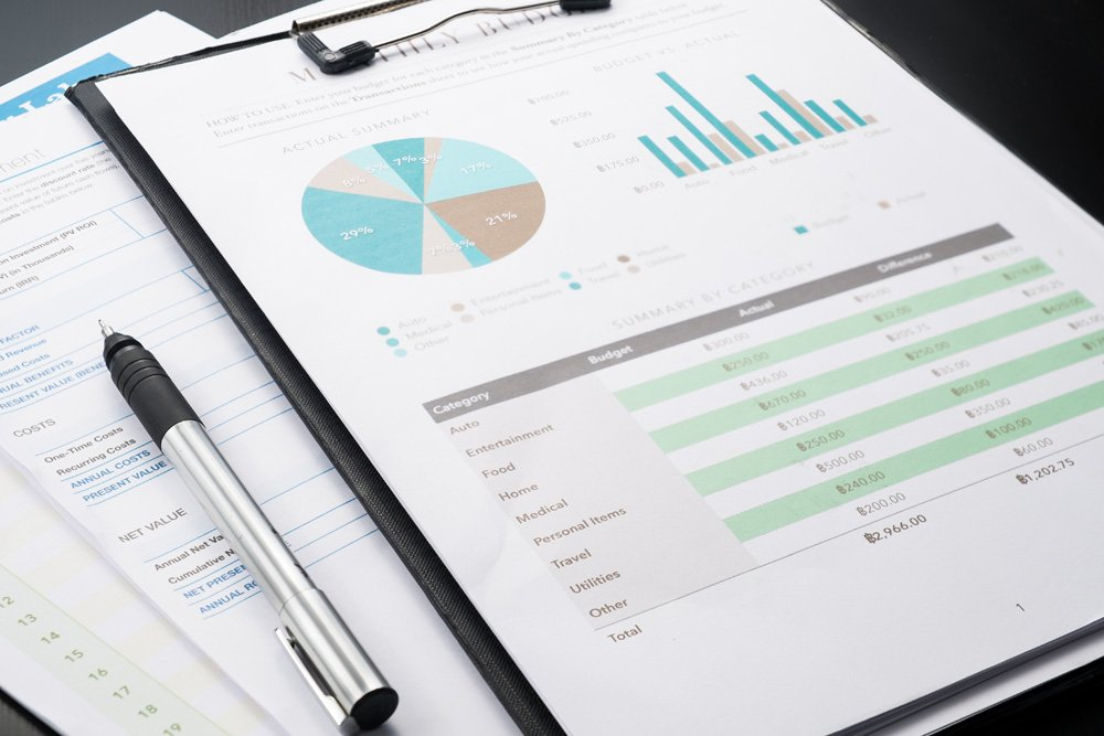 Photo of financial reports